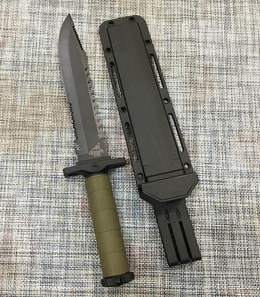 Большой тактический нож GERBFR 34,5см / 2328В для охоты и рыбалки