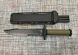 Большой тактический нож GERBFR 34,5см / 2328В для охоты и рыбалки, фото 4