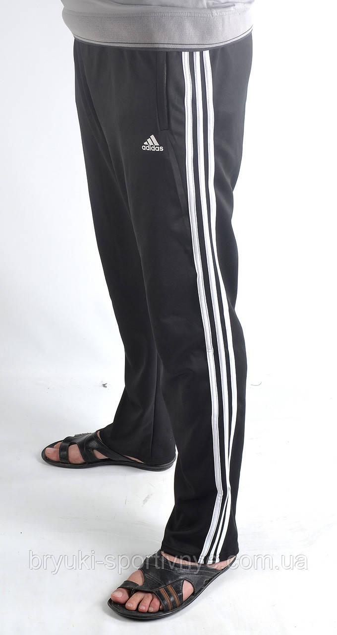 Штаны спортивные  трикотаж - 3 белые полосы.