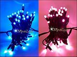 СИНИЙ гирлянды новогодние светодиодные STRING LIGHT 10 м., фото 5