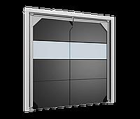 Маятниковые двери DoorHan SSD-AV антивандальные пленочного типа, фото 1