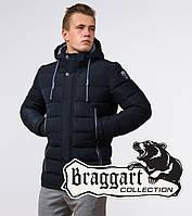 Braggart Aggressive 38828 | Зимняя мужская куртка темно-синяя, фото 1