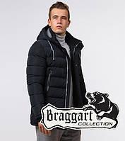 Braggart Aggressive 38828 | Куртка мужская зимняя черно-синяя