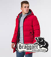 Braggart Aggressive 29077   Зимняя мужская куртка красная, фото 1