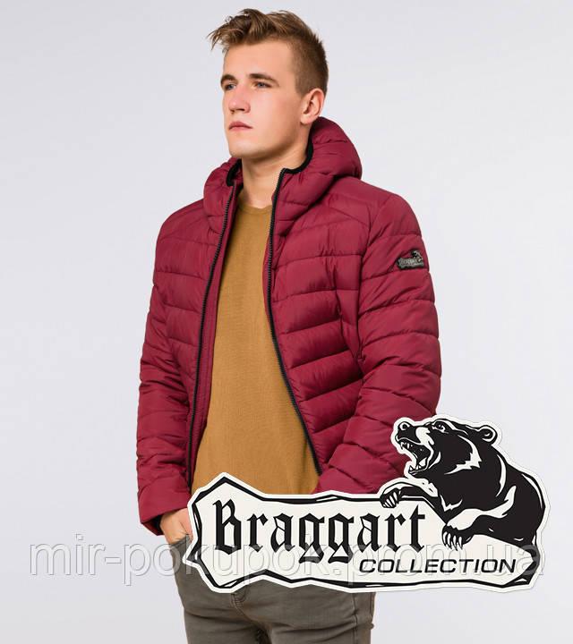 Braggart Aggressive 40962   Куртка зимняя утепленная бордовая, фото 1