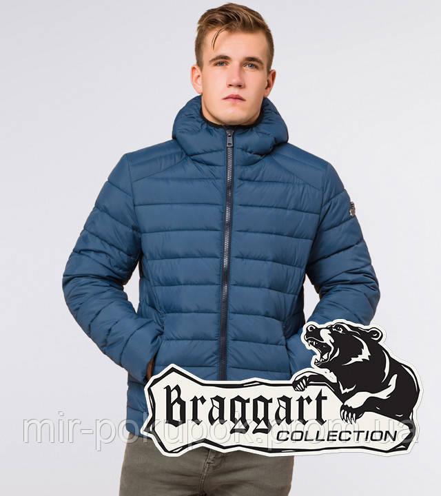 Braggart Aggressive 40962   Зимняя мужская куртка темно-бирюзовая, фото 1
