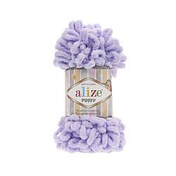 Пряжа фантазийная Alize Puffy № 146