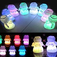 Ночник Ангел светодиодный свет силиконовый для детей и детей подарок Хелловін хелоуин Halloween