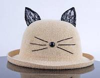 Модель №240 Шляпка женская с ушками