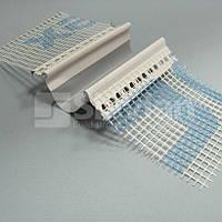 Профиль ПВХ дилатационный прямой с сеткой (тип–Е), 2м Минимальный заказ 500 шт. MOQ 500pcs