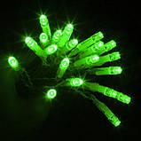 ЗЕЛЕНЫЙ Светодиодные гирлянды елочные STRING LIGHT 5 м., фото 4