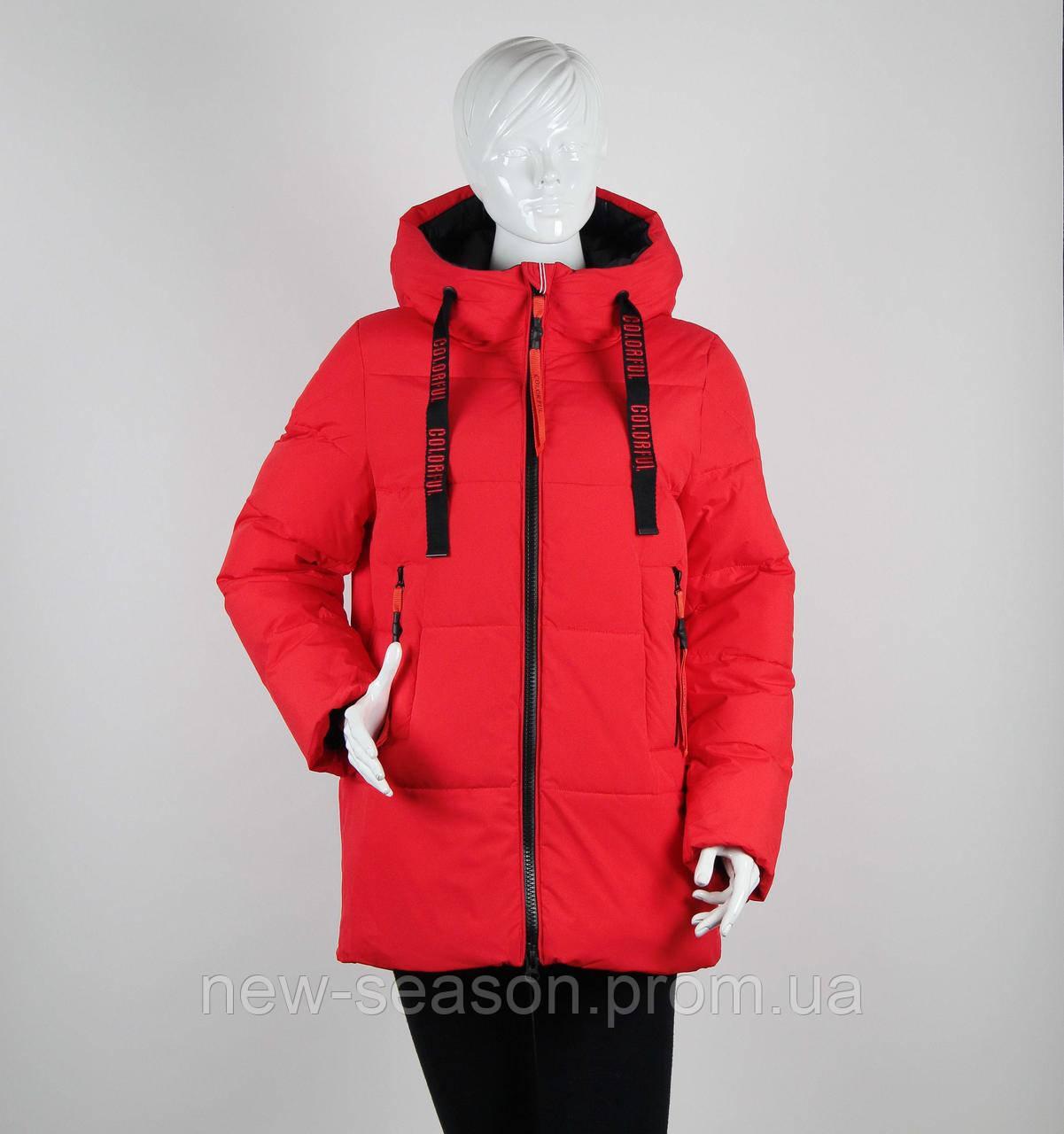 Куртка зимняя TOWMY 3271 алый