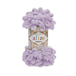 Пряжа фантазийная Alize Puffy № 27