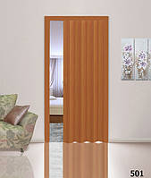 Двери гармошка - цвет вишня. 100% Гарантия качества. Размер 50,60,70,80