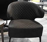 Кресло лаунж Keen нефтяной серый (бесплатная доставка), фото 9