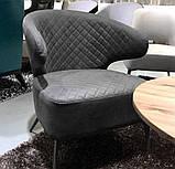 Кресло лаунж Keen нефтяной серый (бесплатная доставка), фото 2