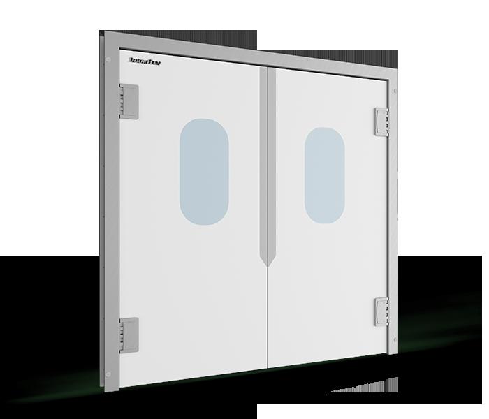 Маятниковые двери DoorHan SWD пластикового типа