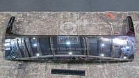 Решетка в капоте: хромированная накладка, запчасти кузова автомобиля VOLKSWAGEN JETTA III 2006- пр-во TEMPEST