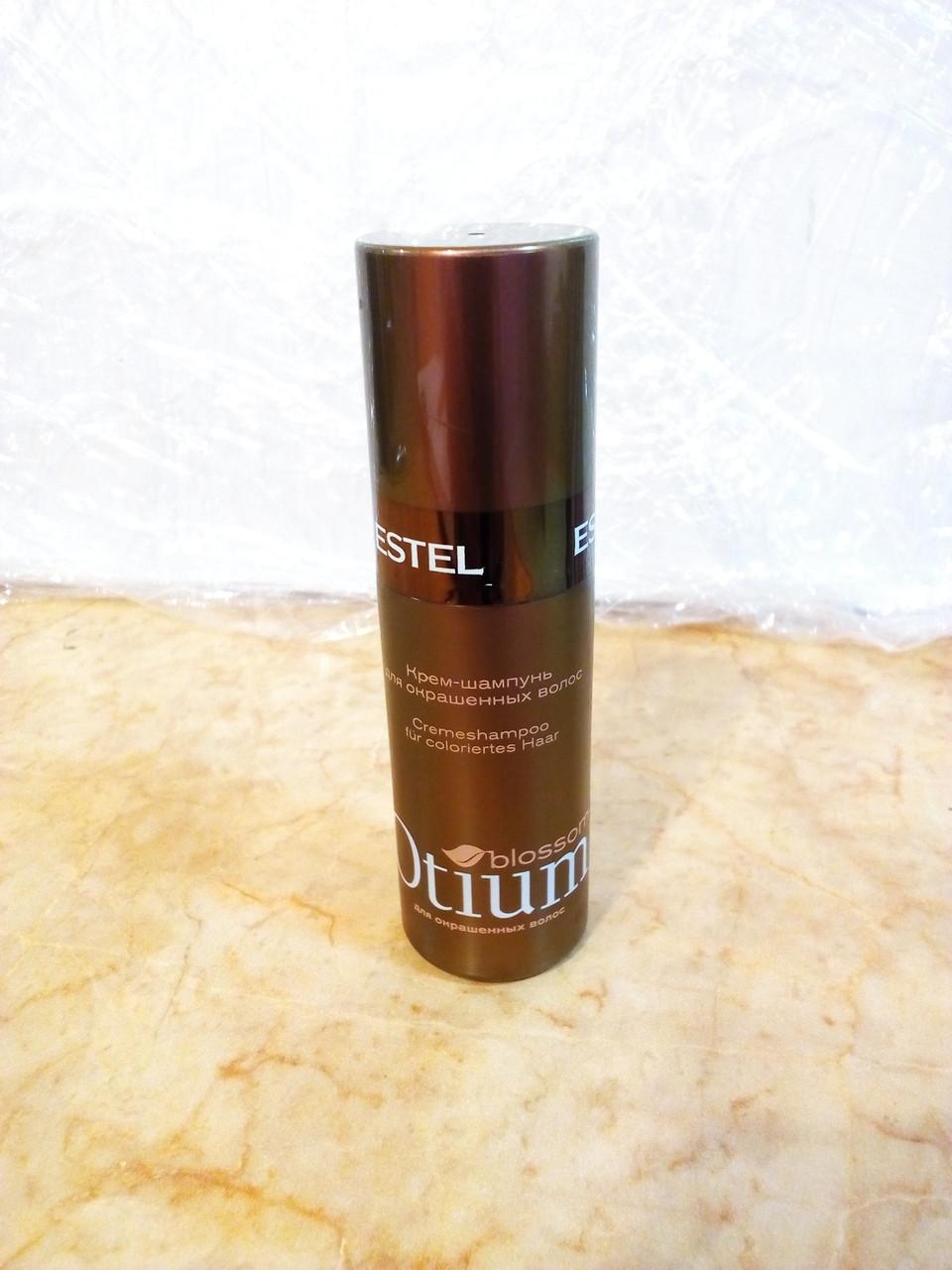 Крем-шампунь для окрашенных волос Estel Otium Blossom 60 мл.