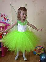 Прокат карнавального костюма Фея Динь-Динь / Тинкербелл, фото 1