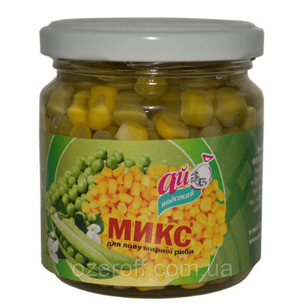 Микс горох+кукуруза Чеснок