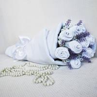 Букет из носочков White Lavender Белая Лаванда
