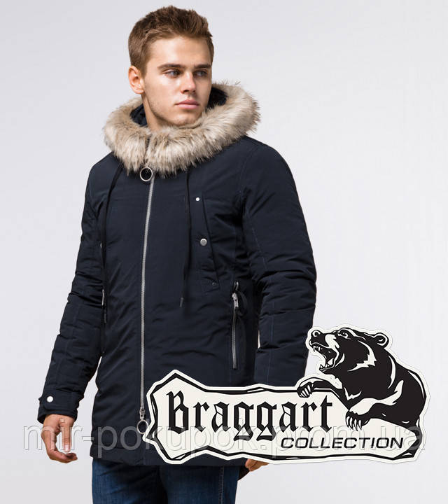 Braggart Arctic 15231   Парка зимняя темно-синяя, фото 1