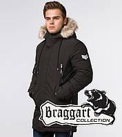 Braggart Arctic 20758 | Парка зимняя мужская коричневая, фото 1