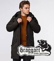 Braggart Arctic 13620   Парка мужская зимняя коричневая, фото 1