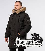 Braggart Arctic 26620 | Мужская зимняя парка коричневая, фото 1