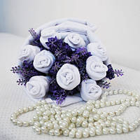 Букет из носочков Purple lavender Фиолетовая Лаванда