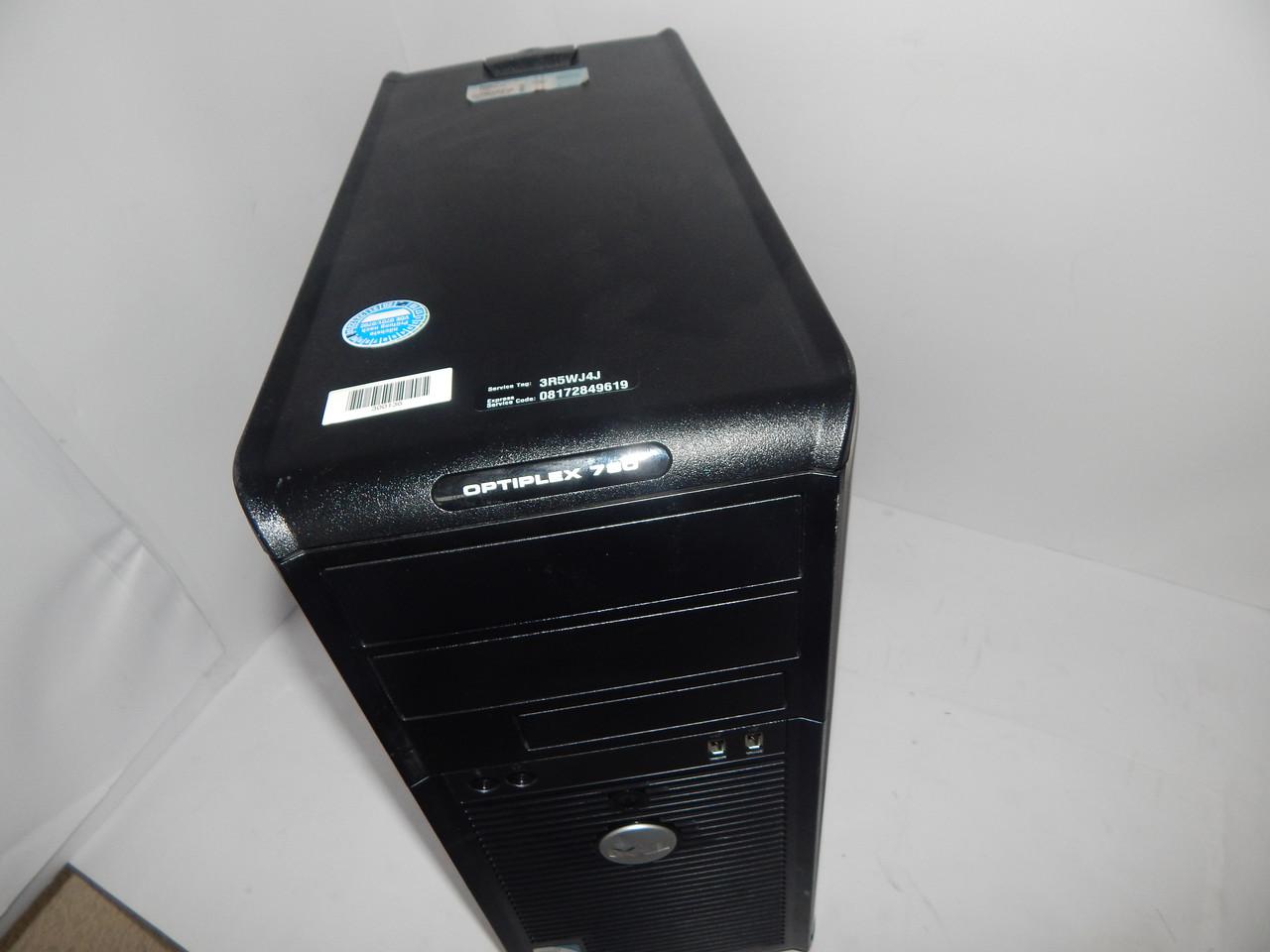 Системный блок, компьютер DELL 780 Е8400 ОЗУ 4GB DDR3 160 hdd