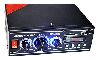 Усилитель звука Lexing SN-777BT Bluetooth USB+Mp3 2*300W