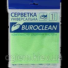 Салфетка микрофибра универсальная Buroclean