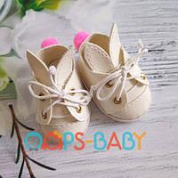 Ботинки зайчики для кукол Paola Reina, 32 см Handmade