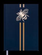 Датированный ежедневник  a5 buromax bm.2162 зеленый на 2020 год golden bee