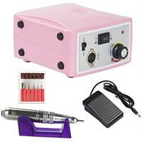 Фрезер для маникюра и педикюра Nail Drill Set ZS-701 65Ватт (35000 об/мин) Розовый