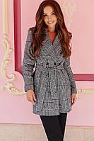 Стильное женское пальто на подкладке