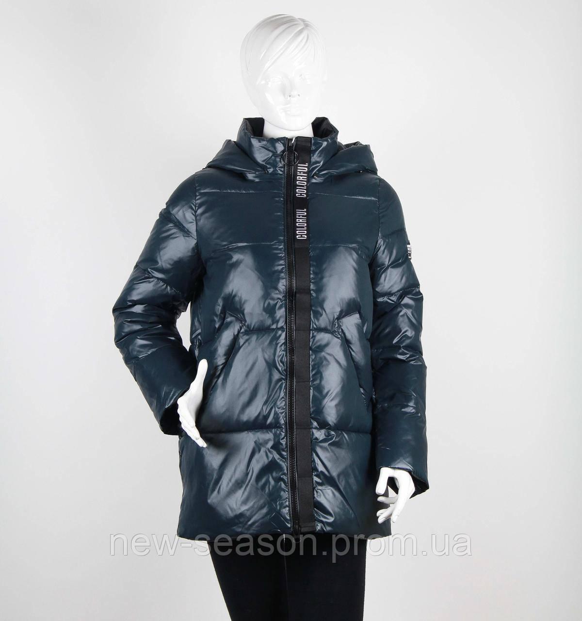 Куртка зимняя TOWMY 3268 изумруд