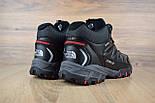 Зимние ботинки The North Face Ultra 110 черные кожа 41-46рр. Живое фото. Реплика, фото 4