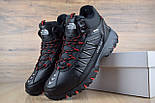 Зимние ботинки The North Face Ultra 110 черные кожа 41-46рр. Живое фото. Реплика, фото 5