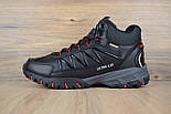 Зимние ботинки The North Face Ultra 110 черные кожа 41-46рр. Живое фото. Реплика, фото 6