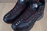 Зимние ботинки The North Face Ultra 110 черные кожа 41-46рр. Живое фото. Реплика, фото 8