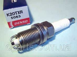 Свеча зажигания 2-х контактная Renault Sandero 2 1.6 8V (Denso K20TXR)(среднее качество)