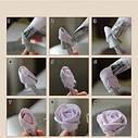 Гвоздик конус-держатель для изготовления цветов из крема 135 мм, фото 5