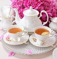 Чайний сервіз порцеляновий Вів'єн на 6 персон 264-200