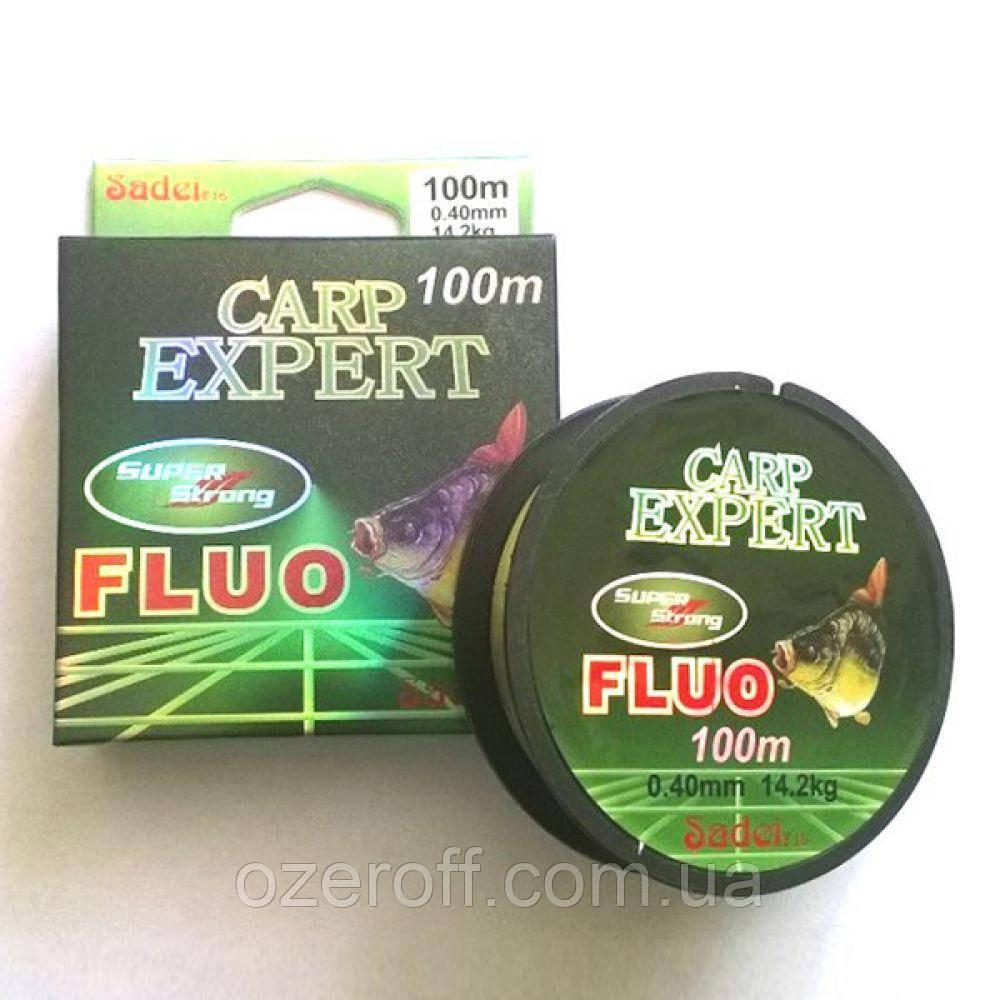 CARP EXPERT fluo 100 m / 0.25 mm
