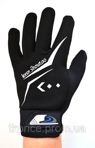 Мужские перчатки с сенсорными пальчиками, фото 2