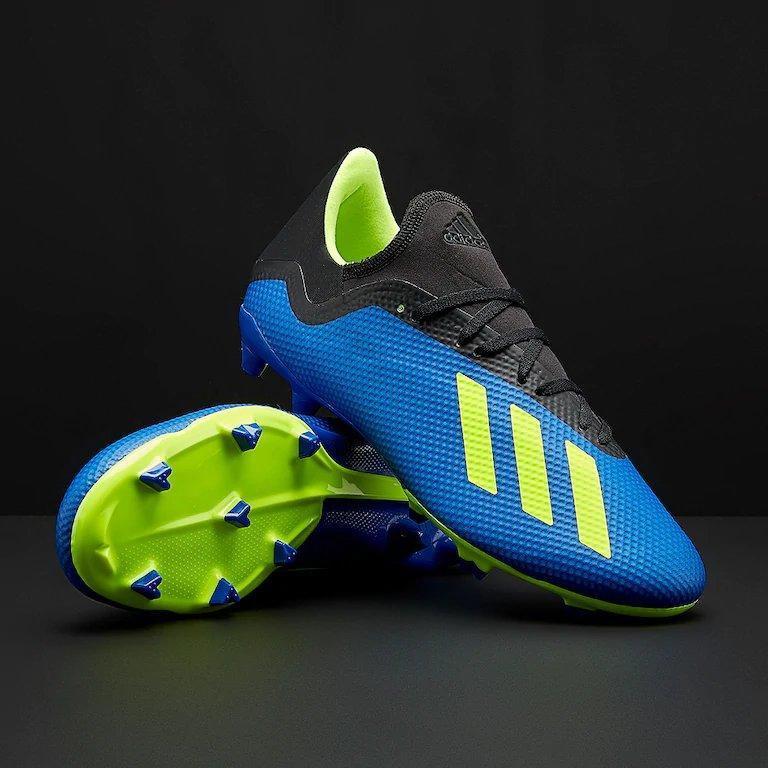 Бутсы футбольные Adidas X 18.3 FG DA9335 (Оригинал) синие