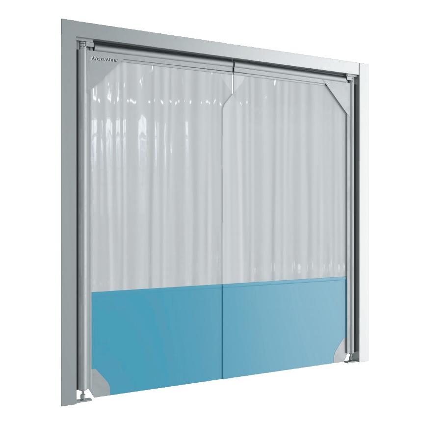 Маятниковые двери пленочного типа DoorHan SSD